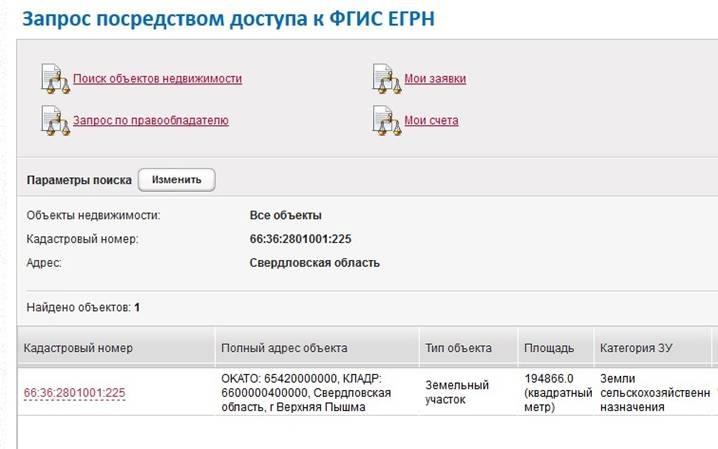 Как получить сведения ЕГРН посредством обеспечения доступа к ФГИС