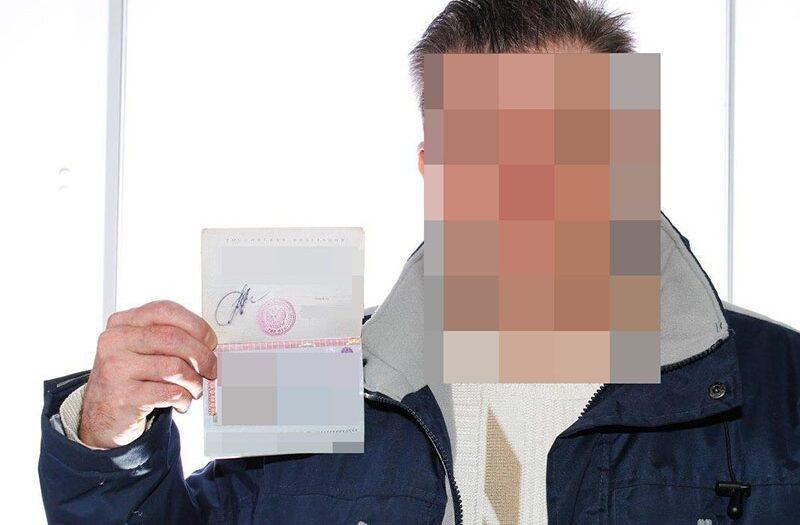Просят выслать фото с паспортом в руке